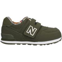 Cipők Gyerek Rövid szárú edzőcipők New Balance NBIV574GYL Zöld
