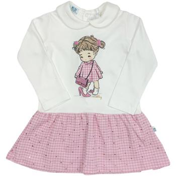 Ruhák Lány Rövid ruhák Melby 20A0011 Fehér