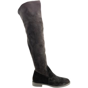 Cipők Női Combcsizmák Grunland ST0464 Fekete