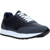Cipők Férfi Rövid szárú edzőcipők Rocco Barocco RB-HUGO-1901 Kék