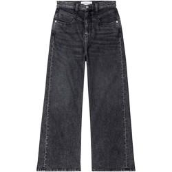 Ruhák Női Bootcut farmerek Calvin Klein Jeans J20J214004 Fekete