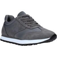 Cipők Férfi Rövid szárú edzőcipők Rocco Barocco RB-HUGO-1701 Szürke