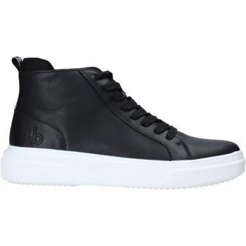 Cipők Férfi Magas szárú edzőcipők Rocco Barocco RB-HOWIE-1401 Fekete