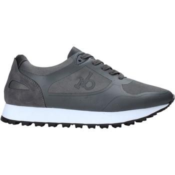 Cipők Férfi Rövid szárú edzőcipők Rocco Barocco RB-HUGO-1601 Szürke