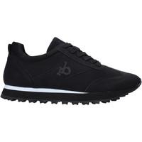 Cipők Férfi Rövid szárú edzőcipők Rocco Barocco RB-HUGO-1701 Fekete