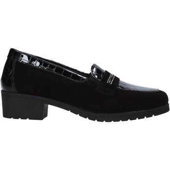 Cipők Női Mokkaszínek Susimoda 891059 Fekete