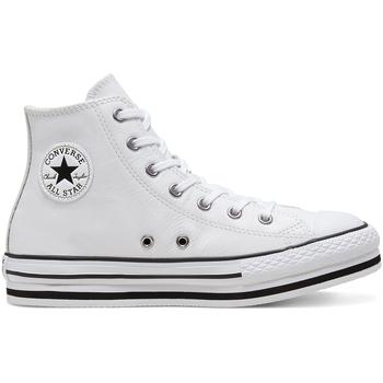 Cipők Gyerek Magas szárú edzőcipők Converse 666392C Fehér