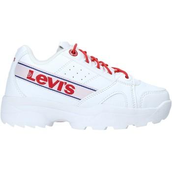 Cipők Gyerek Rövid szárú edzőcipők Levi's VSOH0050S Fehér
