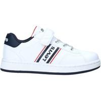 Cipők Gyerek Rövid szárú edzőcipők Levi's VADS0040S Fehér