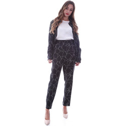Ruhák Női Chino nadrágok / Carrot nadrágok Calvin Klein Jeans K20K202125 Fekete