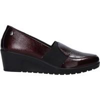 Cipők Női Mokkaszínek Enval 6273522 Piros