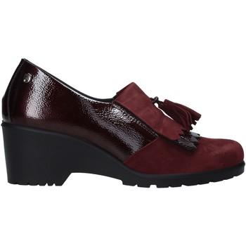 Cipők Női Mokkaszínek Enval 6276322 Piros