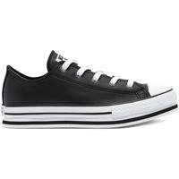 Cipők Gyerek Rövid szárú edzőcipők Converse 669710C Fekete