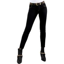Ruhák Női Slim farmerek Versace A1HVB02HAPV4P899 Fekete