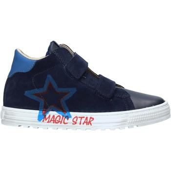 Cipők Gyerek Rövid szárú edzőcipők Naturino 2015394 01 Kék