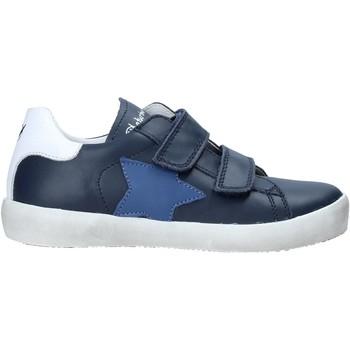 Cipők Gyerek Rövid szárú edzőcipők Naturino 2015365 08 Kék