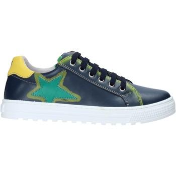 Cipők Gyerek Rövid szárú edzőcipők Naturino 2015468 01 Kék