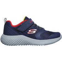 Cipők Gyerek Rövid szárú edzőcipők Skechers 403732L Kék