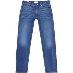 Ruhák Férfi Egyenes szárú farmerek Calvin Klein Jeans K10K105463 Kék
