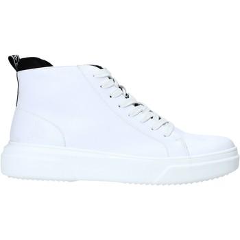 Cipők Férfi Magas szárú edzőcipők Rocco Barocco RB-HOWIE-1401 Fehér