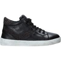 Cipők Gyerek Magas szárú edzőcipők Grunland PO1499 Fekete