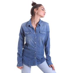 Ruhák Női Ingek / Blúzok Fornarina BE174577D884AS Kék