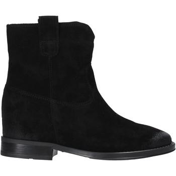 Cipők Női Csizmák Pregunta MAA3307 Fekete