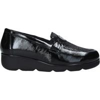 Cipők Női Mokkaszínek Susimoda 800976 Fekete