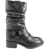 Cipők Női Városi csizmák Apepazza F0BEATRIX01/LEA Fekete