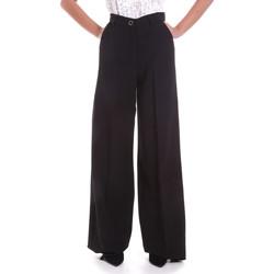 Ruhák Női Lenge nadrágok Fracomina F120W10069W05301 Fekete