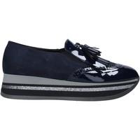 Cipők Női Mokkaszínek Grace Shoes GLAM004 Kék