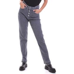 Ruhák Női Egyenes szárú farmerek Calvin Klein Jeans K20K202114 Szürke