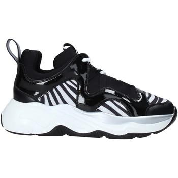 Cipők Női Rövid szárú edzőcipők Café Noir XV942 Fekete