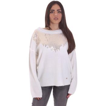 Ruhák Női Pulóverek Gaudi 021BD53044 Fehér