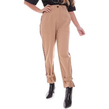 Ruhák Női Chino nadrágok / Carrot nadrágok Gaudi 021FD25004 Bézs