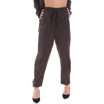 Ruhák Női Chino nadrágok / Carrot nadrágok Gaudi 021FD25017 Fekete