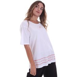 Ruhák Női Rövid ujjú pólók Ea7 Emporio Armani 6HTT32 TJ52Z Fehér
