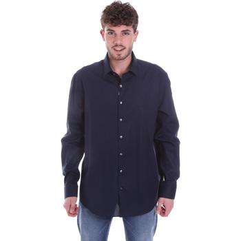 Ruhák Férfi Hosszú ujjú ingek Calvin Klein Jeans K10K106040 Kék