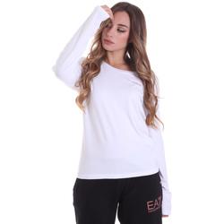 Ruhák Női Hosszú ujjú pólók Ea7 Emporio Armani 6HTT04 TJ28Z Fehér