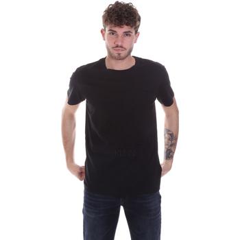 Ruhák Férfi Rövid ujjú pólók Calvin Klein Jeans J30J315860 Fekete