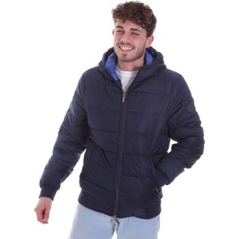 Ruhák Férfi Steppelt kabátok Gaudi 021GU35007 Kék