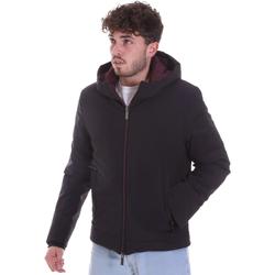 Ruhák Férfi Steppelt kabátok Gaudi 021GU35003 Fekete