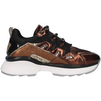 Cipők Női Rövid szárú edzőcipők NeroGiardini I013702D Fekete