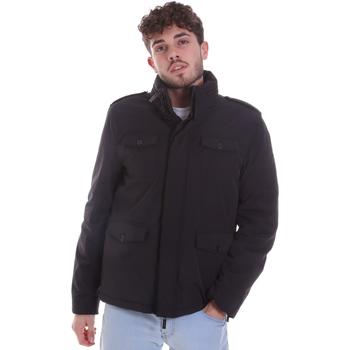 Ruhák Férfi Steppelt kabátok Gaudi 021GU35004 Fekete
