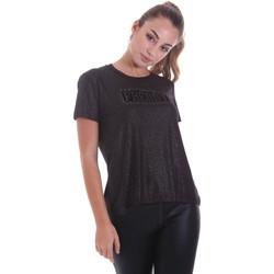 Ruhák Női Rövid ujjú pólók Freddy F0WALT2 Fekete