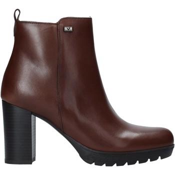 Cipők Női Bokacsizmák Valleverde 49370 Barna