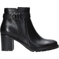 Cipők Női Bokacsizmák Valleverde 46084 Fekete
