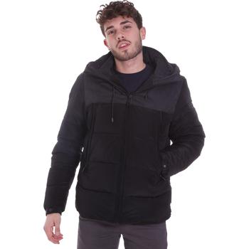 Ruhák Férfi Steppelt kabátok Sseinse GBI646SS Fekete