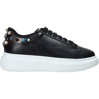 Cipők Női Rövid szárú edzőcipők Gold&gold B20 GA576 Fekete