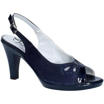 Cipők Női Félcipők Grace Shoes E8174 Kék